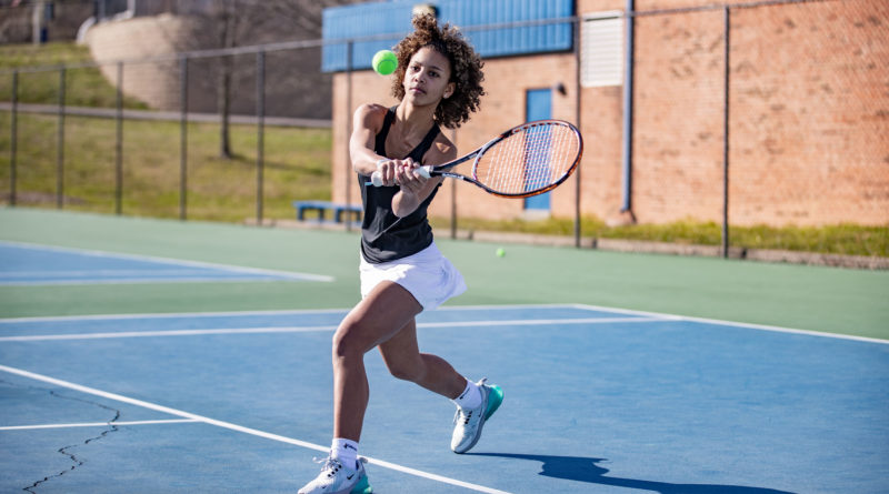GCS Tennis Media Day Action Photos